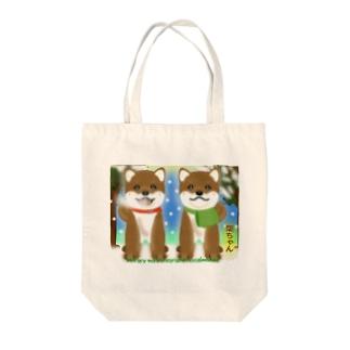 柴ちゃん Tote bags