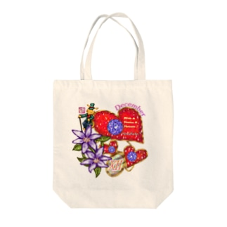 「花籠」Series * Birth12 Dicember Tote bags