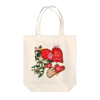 「花籠」Series * Birth07 Jury Tote bags