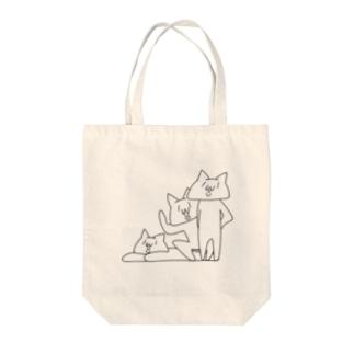 NECO * 3人衆 Tote bags