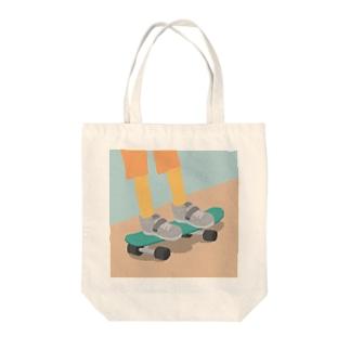 すけぼーー Tote bags