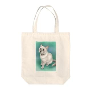 トンキニーズのビーちゃん Tote bags
