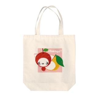 ゆずねっこ~change!~ Tote bags