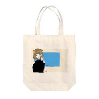 この子 ( トートバッグ ) Tote bags