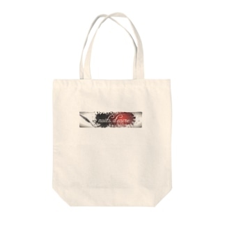 nuits d'encre ロゴ Tote bags
