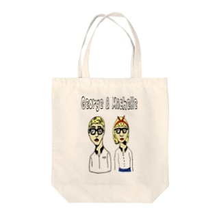 George & Michelle Tote bags