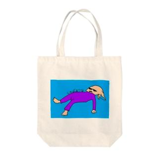 しゃばあさな Tote bags
