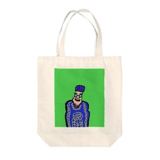 JUNSEN(純仙)ロマーニョ国王 Tote bags