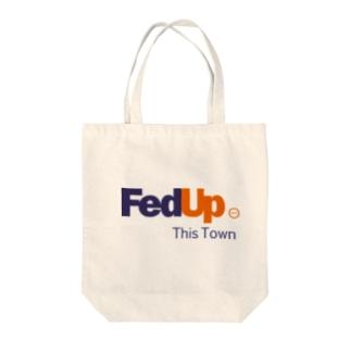 FedUp Tote bags
