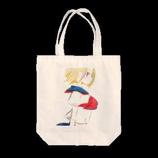 一束の横顔 Tote bags
