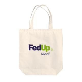 FedUp (2) Tote bags