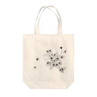 らっとぅヤマルリソウシリーズ Tote bags