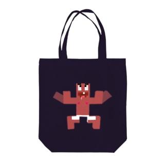 ひったくり殺害トートバッグ Tote bags