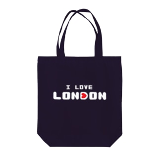 I Love London Tote bags