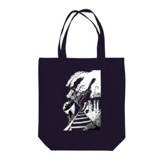 葡萄酒と関節 Tote bags