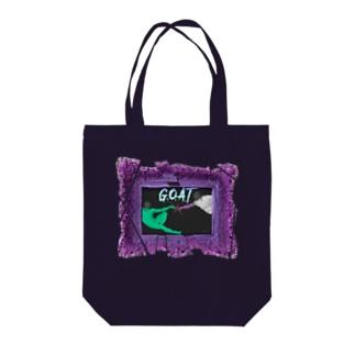 G.O.A.T Tote bags