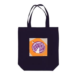 紫キャベツトートバッグ Tote bags