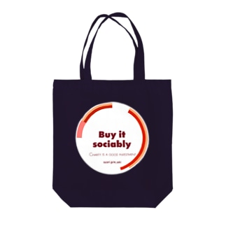 buy it sociably Tote bags