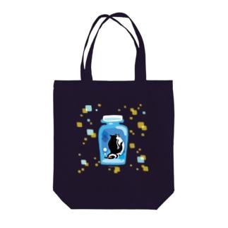 ペンギンの瓶詰めM Tote bags