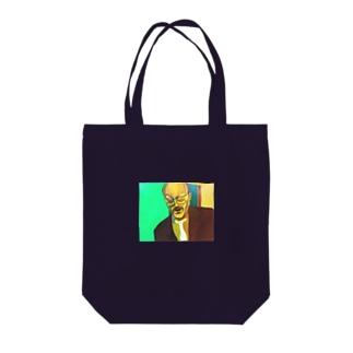 おっさん Tote bags