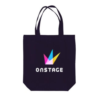 シロロゴ_タテ Tote bags
