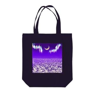 月の華 Tote bags
