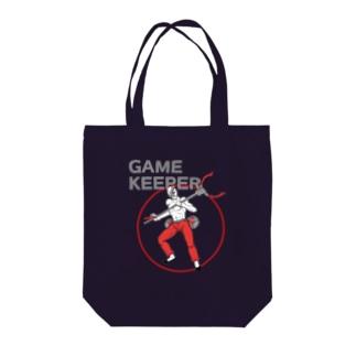 ゲームキーパー アメコミヒーロー風 イラスト Tote bags