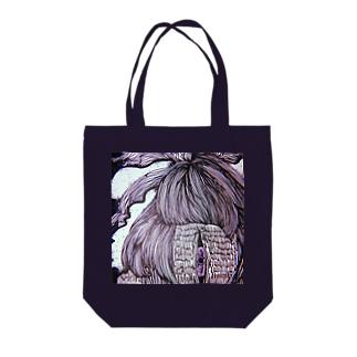 【肴】ひとつめくらげ Tote bags
