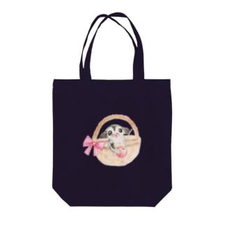 フクロモモンガとさくらんぼ Tote bags