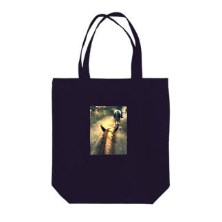 おでかけ日和♬ Tote bags