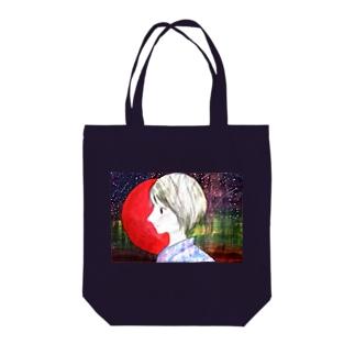 暁と散切り(原画ver) Tote bags