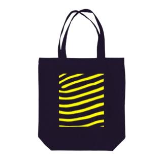 タテジマキンチャクダイ Tote bags