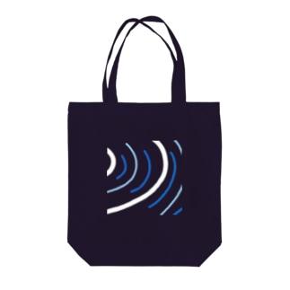 タテジマキンチャクダイちび Tote bags