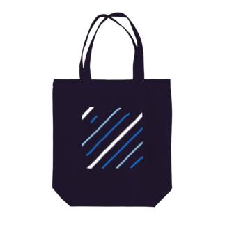タテジマキンチャクダイちび(Straight line) Tote bags