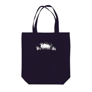 しゅぶにぐ Tote bags