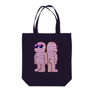 ミイラくん Tote bags