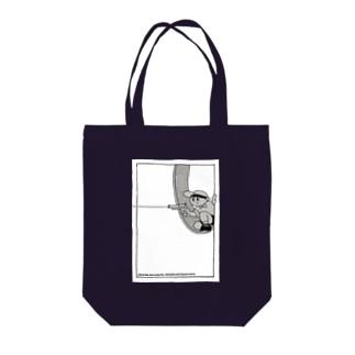 ピョン太救出大作戦 (少年) Tote bags