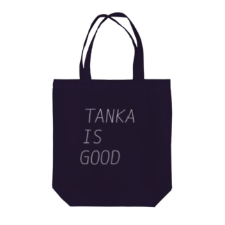 TANKA IS GOOD Tote bags
