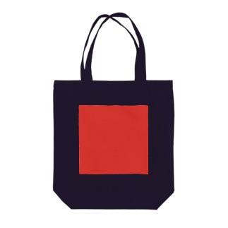 赤 トートバッグ