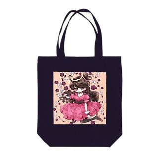 pink姫 Tote bags