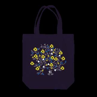 honneのフラワーブック(黄色) Tote bags