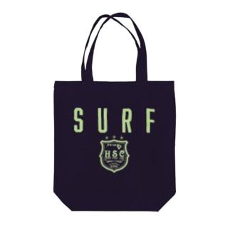 SURF EMBLEM Tote bags