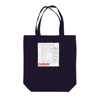 ファッキン5 Tote bags