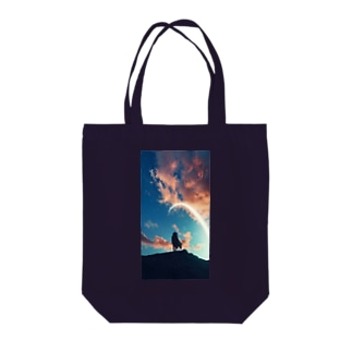 Strong men Tote bags