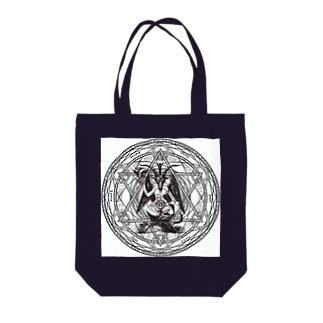バフォメット Tote bags