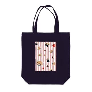 ころころレッサーパンダ Tote bags