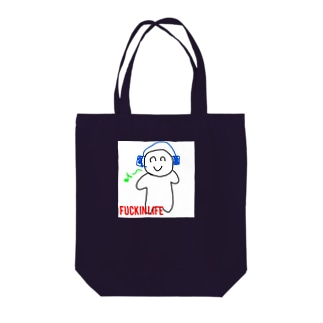 ファッキン16 Tote bags