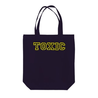 toxic-1 Tote bags