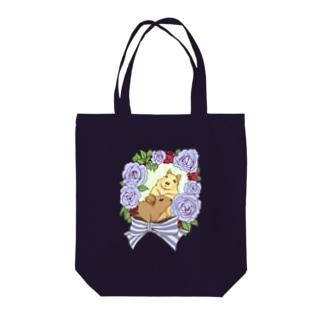 デグーとバラリース Tote bags