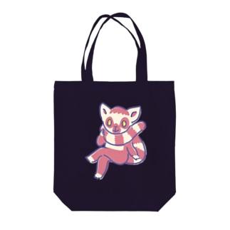ワオキツネザル Tote bags